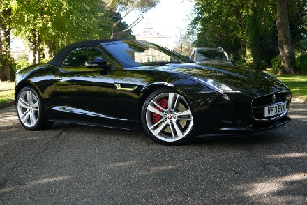 Jaguar F-TYPE 5.0/V8 S Convertible