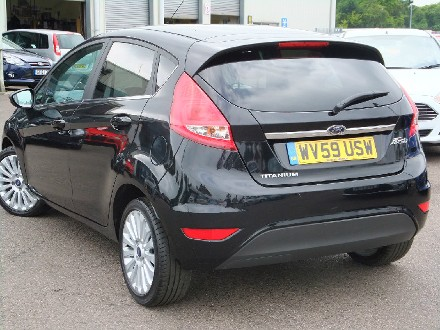 Ford Fiesta 1.4 Titanium 5dr with Digital