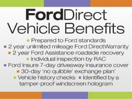 FORD FORD DIRECT 1.6 ZETEC 5DR IN M
