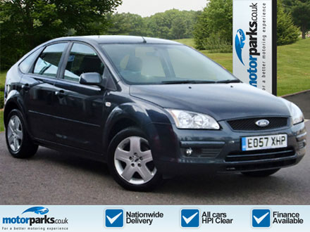 FORD 1.6 Style 5dr in Sea Grey Meta