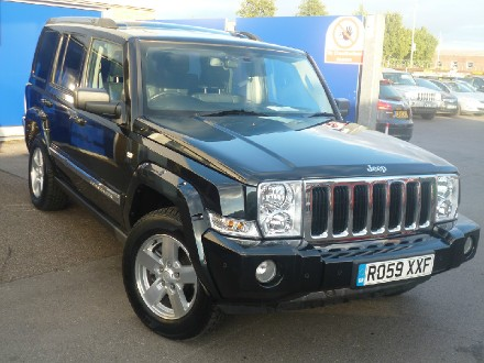 Jeep Commander 3.0 CRD Limited 5dr Auto