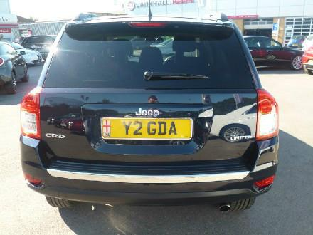 Jeep Compass 2.2 CRD Limited 5dr