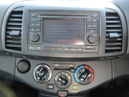 NISSAN 1.2 N-Tec 5dr  Air Con  Blue