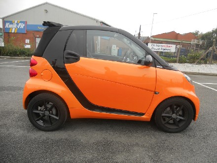 Smart ForTwo Cabrio Passion mhd 2dr Softouch Auto