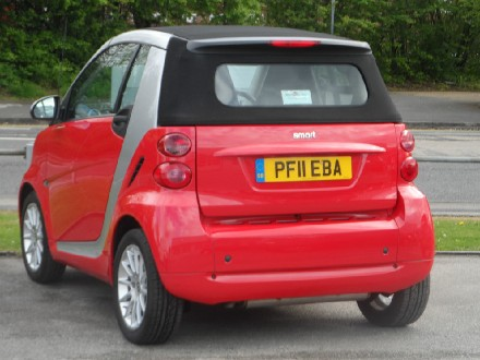 Smart ForTwo Cabrio Passion 2dr Softouch Auto 84 (