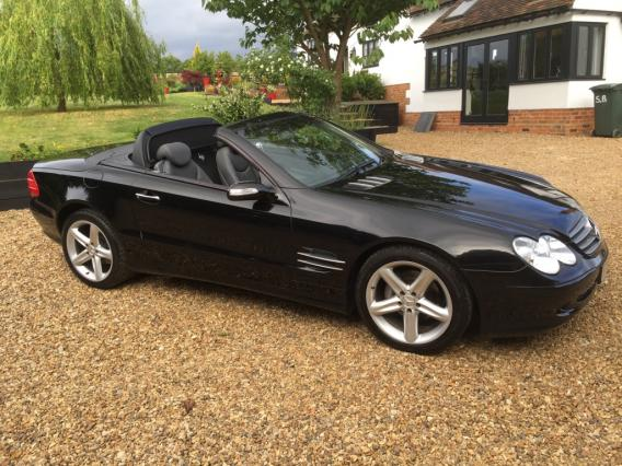 MERCEDES-BENZ SL SERIES CONVERTIBLE